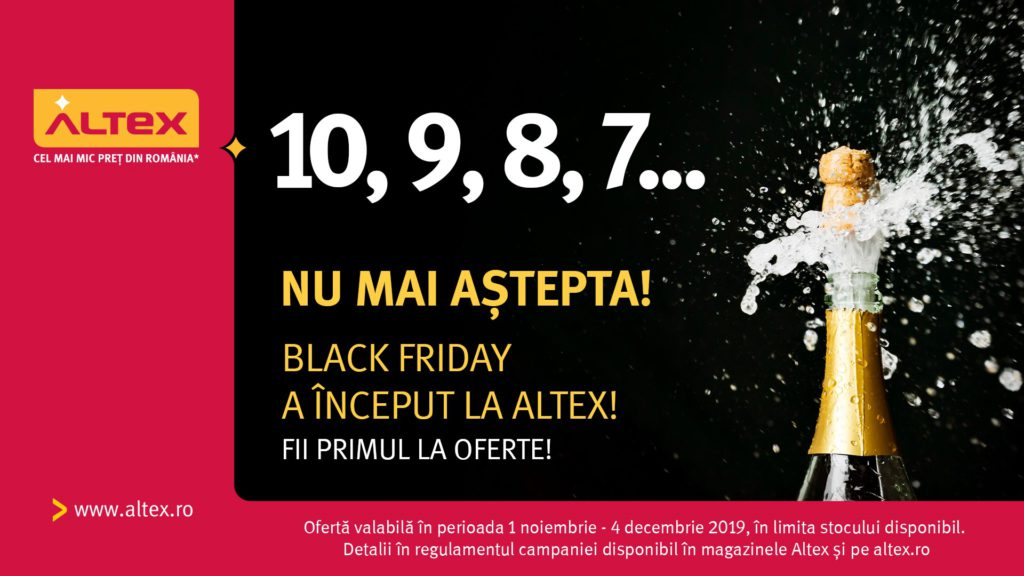 Black Friday la Altex 2019