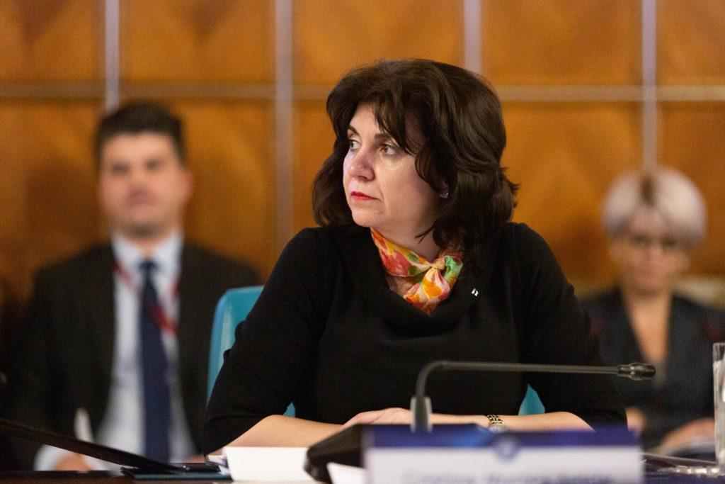 Monica Anisie, Ministrul Educației. Foto: Inquam Photos / Mircea Manole