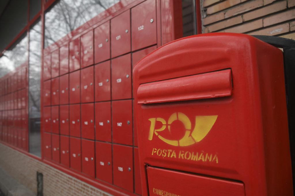 Poșta Română, anunț despre livrarea pensiilor. Foto: Inquam Photos/ Octav Ganea