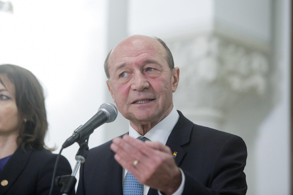 Trian Băsescu, foto Inquam Photos/ George Calin